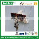 Fish wood wall hanger Ritzy Fish plywood wood wall hook organizer, sunglasses holder & key hook