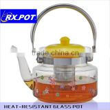 Heat-resistant glass coffee Maker direct heating pot 1500K/2200K/2600K/3000K