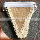 Photo booth burlap banner wedding burlap lace banner                                                                         Quality Choice