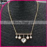 European and American high-end jewelry necklaces wholesale pearl imitation diamond necklace