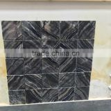 black granite mosaic black galaxy mosaic tile