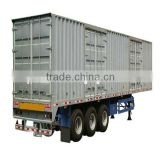 MULTI-FUNCTION CARGO TRAILER Semi-trailer 3 Axles 4 axle trailer factory cell Tom:86-15271357675