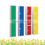 gym locker office furniture/3 door metallic locker laptop storage boxes metal locker for storage lockable metal storage