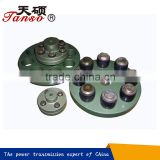 rubber-cushioned sleeve bearing coupling,pin coupling with elastic sleeves