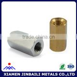 long hex stainless steel carbon steel aluminum coupling nut