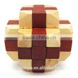 Wooden IQ Intelligent Puzzle Magic Puzzle Kongming Lock Brain Teaser Model Number GAD1063
