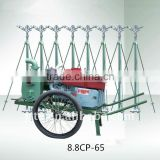 8.8CP-65 new high quality diesel pump farm sprinkling irrigation machine