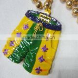 2016 New Design Mardi Gras Beads Necklace Wholesale Round Beads