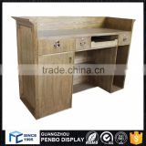 Cheap beauty salon reception front desk counter with free design