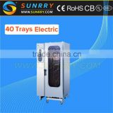 Electric Steaming Baking Oven Professional Baking Oven Steam 40 Trays Electric Combi Steamer Oven (SY-CV20B SUNRRY)