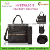 New products custom diaper tote, adult baby diper bag with interior organizer                                                                         Quality Choice