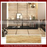 Rustic Wood Look Ceramic Floor Tiles Front Wall