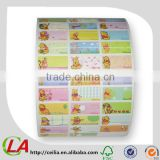 Cartoon Book Label for kids Children Cartoon Stickers                                                                         Quality Choice