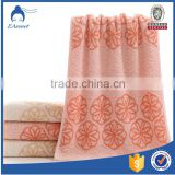 100% Cotton Towel Mushroom Jacquard Face Towels ,Hair Drying Towels