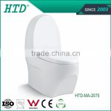 HTD-MA-2075 prefab toilet bathroom toilet