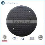 ductile iron round manhole cover with lock