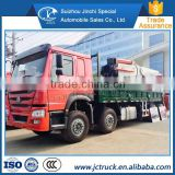 Exports abroad Automatic electric control operation HOWO 8x4 180T ROTATE CRANE TRUCK discount price