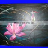 beautiful water lily flower canvas prints