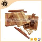 biodegradable wooden disposable wedding tablewares for sale