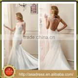 VDN13 Charming Full Beaded Appliqued Luxury Latest Cap Sleeve Lace Keyhole Back Bridal Formal Party Gown Vintage Wedding Dresses