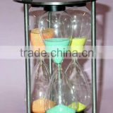 fine wholesale 15 minutes glass sand timer handicrafts