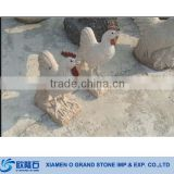 Large Stone Animal Rooster Sculpture Granite Animal Stone Sculpture