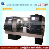 Pipe threaded cnc lathe CKG130A for metal threading used pipe threading machines for sale