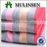 Mulinsen textile cotton polyester yarn dyed terry cloth fabric wholesale