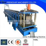 Half Round Gutter Machine,Half Round Gutter Roll Forming Machine For Roof Carry out Rainwater