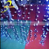 For Holiday Christmas Garden Party New Model Black Wire led ball string light