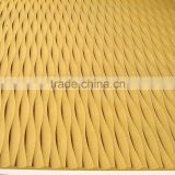 MDF carved wave board(decorative grille panel )