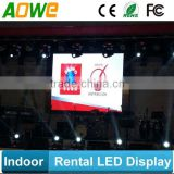 die-casting ultra slim 65mm rental led display for truss/LED cabinet 8kgs light weight with CE RoHS
