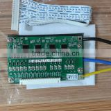 8s 24v 120A BMS PCM PCB for lifepo4 battery packs peak current normal 150% building management system bms