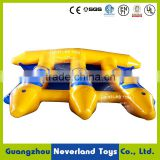 Best Quality NEVERLAND TOYS Floating Outdoor Water Toys Giant Flying Fish Towable Inflatable Water Toys For Sale