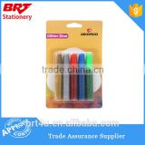 set of 5 pcs glitter glue with shining color