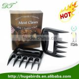 Hot Sale Bear Claw Shape Meat Handling Forks & Shredding Claws & Shredder Paws for Pulled Beef, Pork