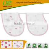 Soft Cute 100% Organic Cotton Baby Bibs Wholesale Burp Cloth By Trade Assurance