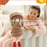 2015 New Products cheap good quality plush baby doll / pussy doll for promotion gift for children for sale
