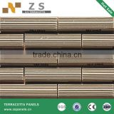 wet stick ceramic tile architectural facade terracotta wall siding exterior wall terracotta tiles ceramic panel
