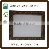 Wholesale MDF Pine wood 11x14 inches paper photo frame mount board