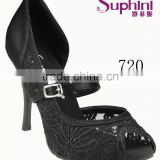 High Quality Suphini Lace Latin Tango Dance Shoes