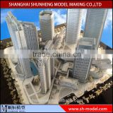office construction building scale model making/miniature architecture building model maker