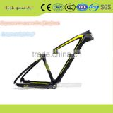 "27.5""Carbon Fibre Rim Material Bicycle Frame Men Gender Carbon Mountain Bike With Solar Lighting Free Provide"