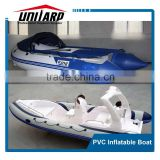 Horsepower Amusing Air Deck Floor durable PVC Inflatable Boat Water Boats