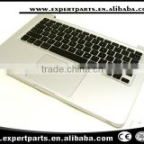 "Original Topcase Palmrest + US keyboard +touchpad trackpad for Macbook Pro 13"" A1278 2009 2010 MB991 MC375 laptop"