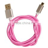 Wholesale Double Sided Micro Usb Data Cable for Samsung, Multy- Colour Custom Usb Cable, Red White Yellow Etc.