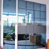Reflection glass frameless glass curtain wall curtain wall system glass curtain wall price