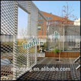 Modern architectural design Aluminum expanded metal mesh from China supplier