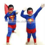 Wholesale child superman costume, Superman Childrens Childs Fancy Dress Boys Super Hero Costume S M L