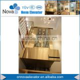 320KG , 400KG Luxury Small Residential Home Lift Elevators, Hydraulic Passenger Elevator